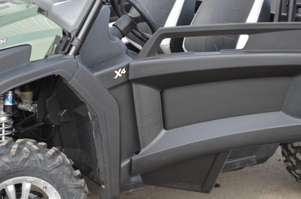 JOHN DEERE RSX 850i SKIN - BLACK