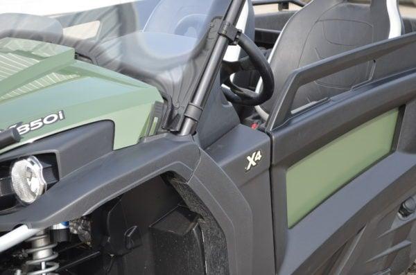 JOHN DEERE RSX 850i SKIN - OLIVE GREEN