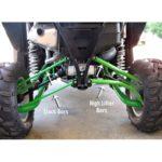 WILDCAT 1000 MAX CLEARANCE UPPER RADIUS BARS