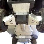 KUBOTA RTV1100 FRONT A-ARM GUARDS