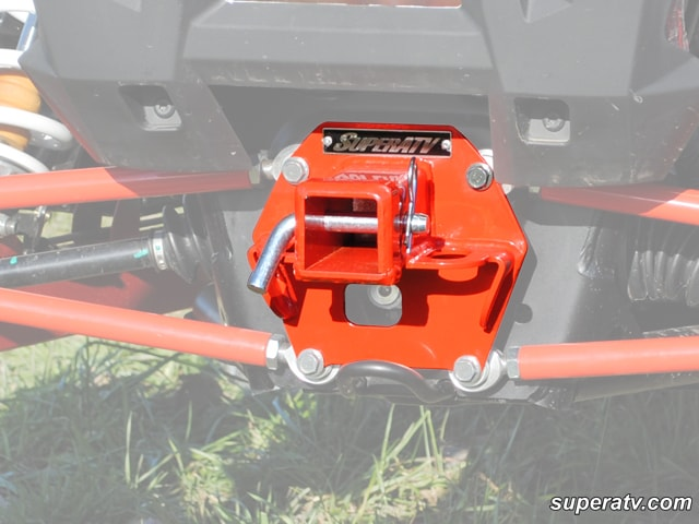 POLARIS RZR1K REAR HITCH RECEIVER