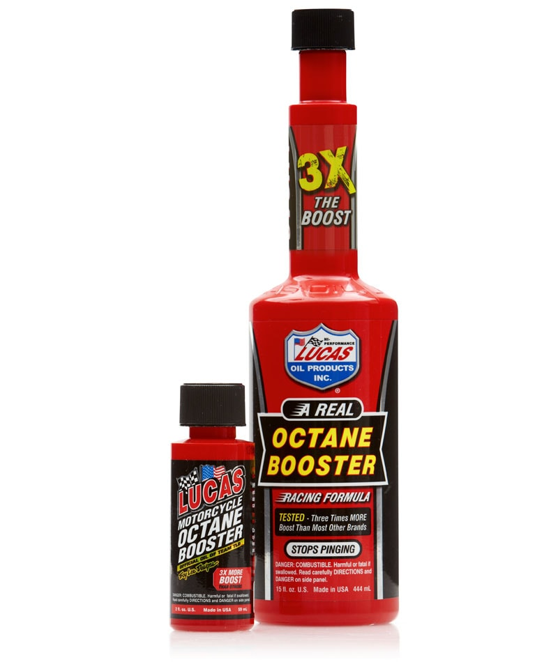 LUCAS OIL OCTANE BOOSTER 15oz/444mL