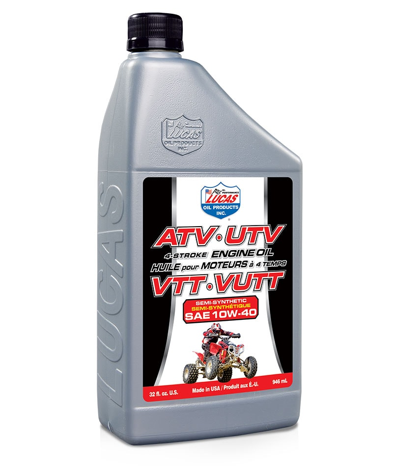 LUCAS OIL SEMI-SYN 10/40 ATV OIL 1qt/946mL