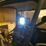 LIGHT BRACKET FOR POLARIS RANGER PROFIT CAGES