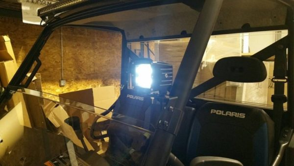 LIGHT BRACKET FOR POLARIS RANGER PROFIT CAGES