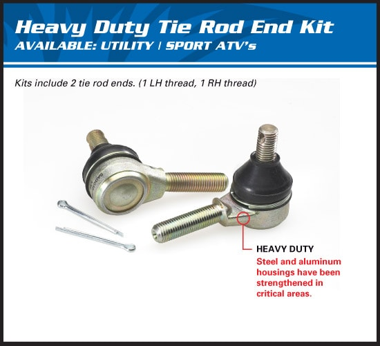 OUTER TIE ROD END - COMMANDER
