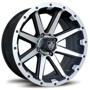 FA135 REBEL GOLF CART WHEEL 12""