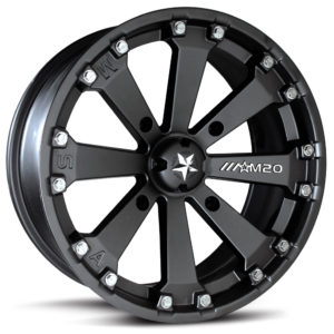 MSA WHEELS - M20 KORE RIM - FLAT BLACK -