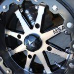 MSA WHEELS - M21 LOK BEADLOCK RIM - GUNMETAL BLACK