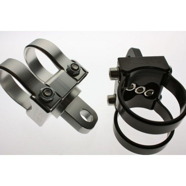 AXIA ALLOYS ADJUSTABLE ANGLE WHIP MOUNT-BLACK