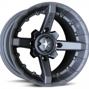 MSA WHEELS - M23 BATTLE RIM - FLAT BLACK - VARIOUS SIZES/BOLT PATTERNS AVAILABLE