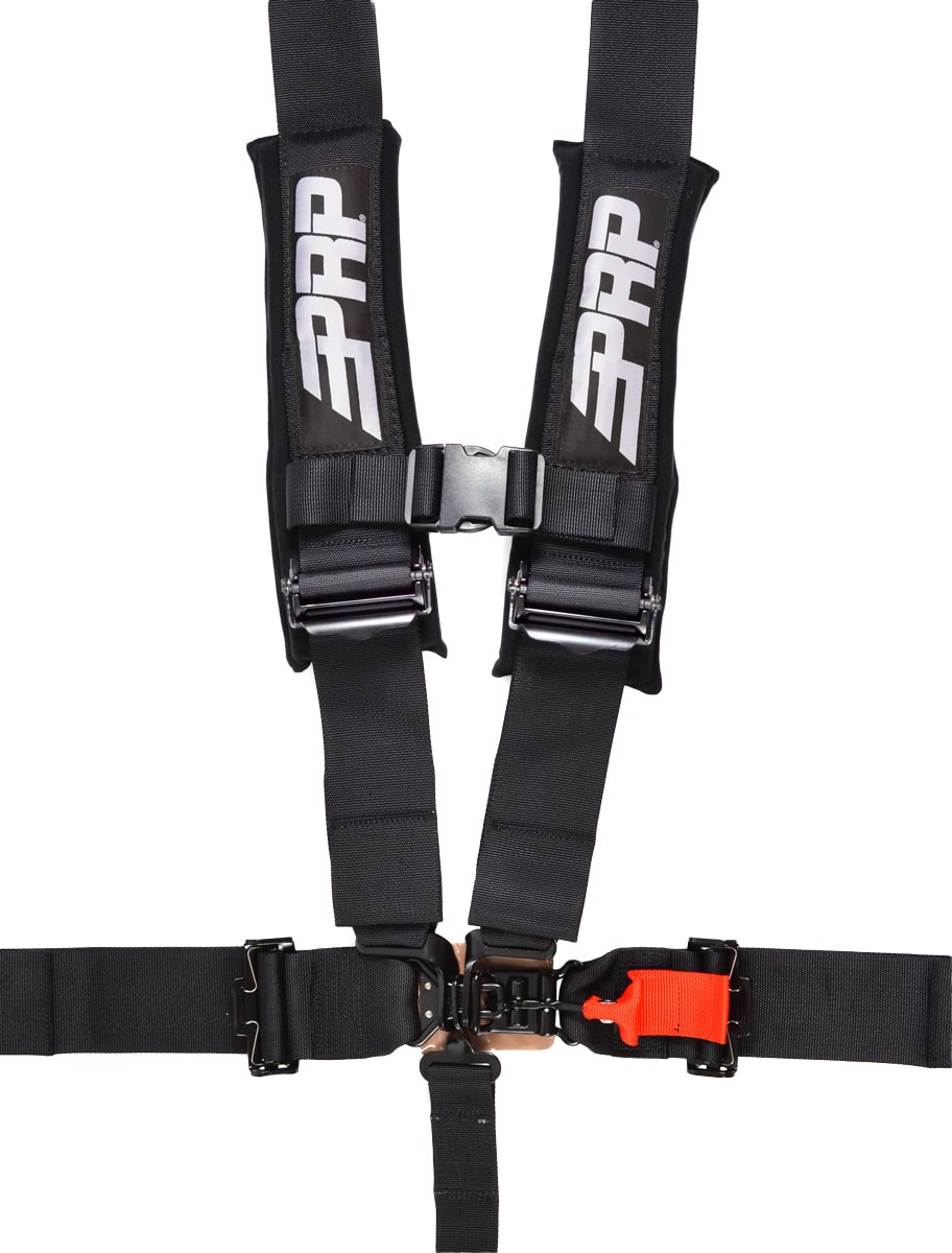 "5PT HARNESS WITH 3"" HARNESS/PAD - RACE LEGAL"