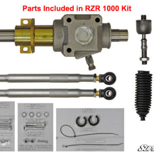 SUPER ATV RACKBOSS HEAVY-DUTY RACK AND PINION POLARIS RZR 1000 -0