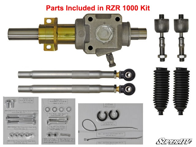 SUPER ATV RACKBOSS HEAVY-DUTY RACK AND PINION POLARIS RZR 1000 -0