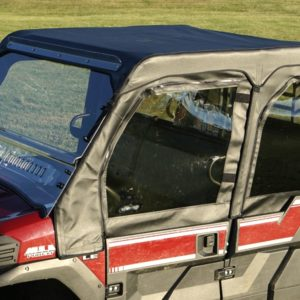 KAWASAKI PRO FXT FULL SOFT CAB WITH AERO-VENT WINDSHIELD