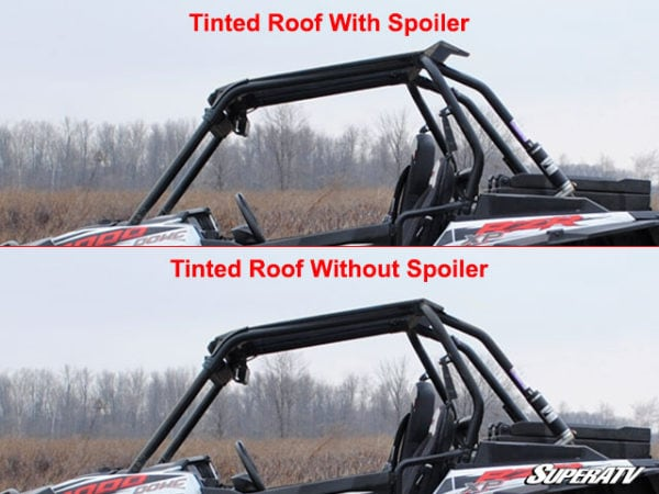 POLARIS RZR 900/1K ROOF-TINTED W/SPOILER