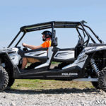 POLARIS RZR 1K4 TINTED ROOF