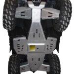SPORTSMAN 550/850 COMPLETE SKID PLATE PACKAGE 2014-15