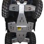 SPORTSMAN 550/850 COMPLETE SKID PLATE PACKAGE 2011+