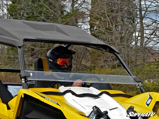 YAMAHA YXZ 1000R HALF WINDSHIELD - CLEAR