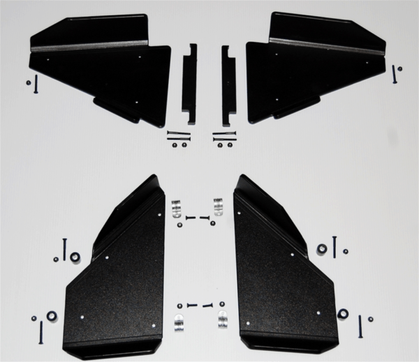"""TRAIL ARMOR FRONT AND REAR A-ARM GUARD RCTIC CAT - 1/2"""""""" UHMW-0"""