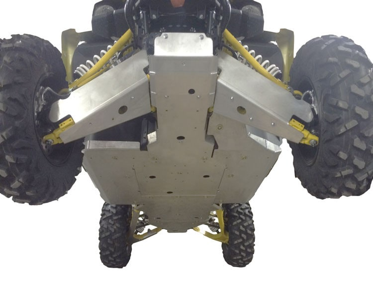 YAMAHA YXZ 1000R 10 PIECE COMPLETE ALUMINUM SKID PLATE PACKAGE
