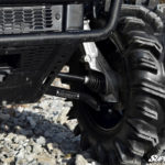 "SUPER ATV HIGH CLEARANCE 0"""" FORWARD OFFSET A-ARMS LOWER POLARIS RANGER 570 MIDSIZE - BLACK-12455"
