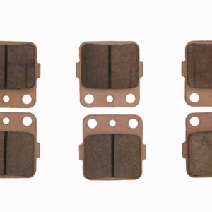 RACE DRIVEN SEVERE-DUTY SINTERED METAL BRAKE PADS CAN-AM-0