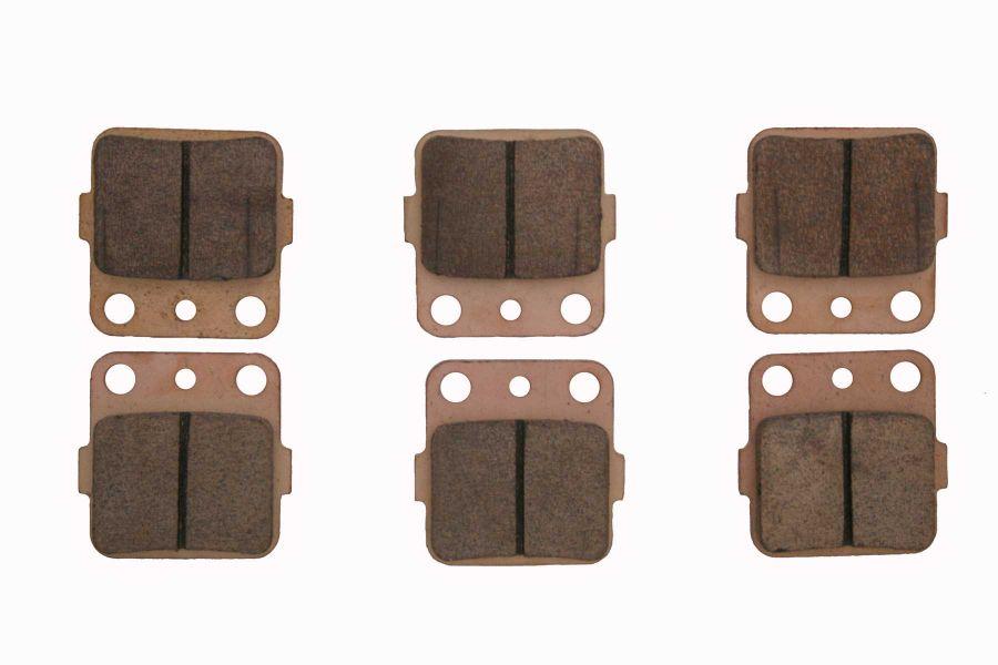 RACE DRIVEN SEVERE-DUTY SINTERED METAL BRAKE PADS CAN-AM-0