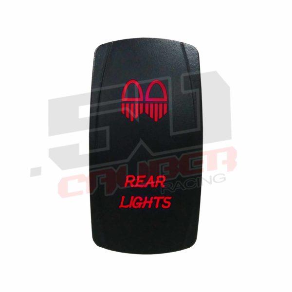 REAR LIGHT ILLUMINATED ROCKER SWITCH-13030
