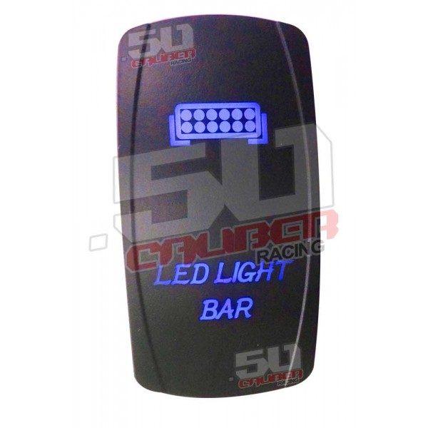 LED LIGHT BAR ILLUMINATED ROCKER SWITCH