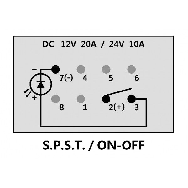 STEREO ILLUMINATED ROCKER SWITCH