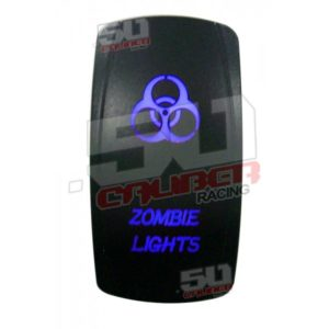 ZOMBIE LIGHTS ON/OFF ILLUMINATED ROCKER SWITCH