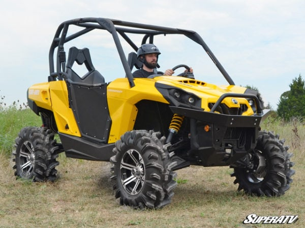"CAN-AM COMMANDER MAX 4"" PORTAL GEAR LIFT (BLACK)"