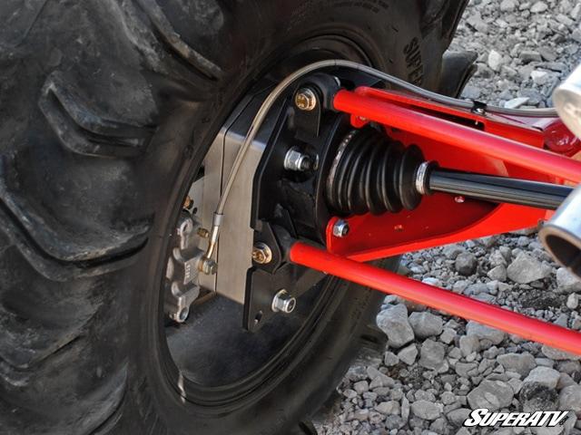 "SUPER ATV POLARIS RANGER MID-SIZE 4"" PORTAL GEAR LIFT"
