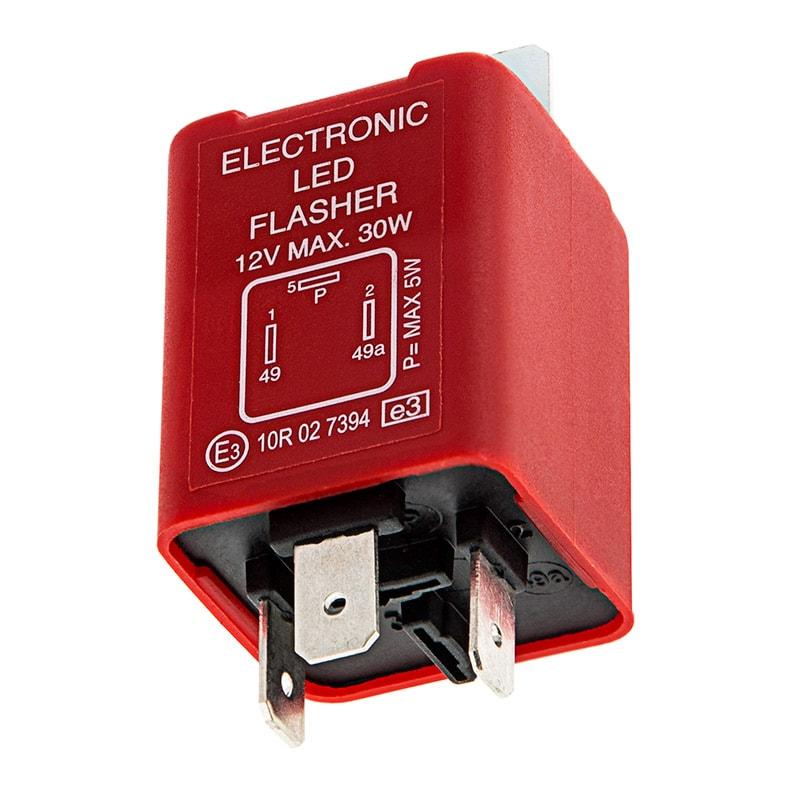 3 PIN LED ELECTRONIC FLASHER