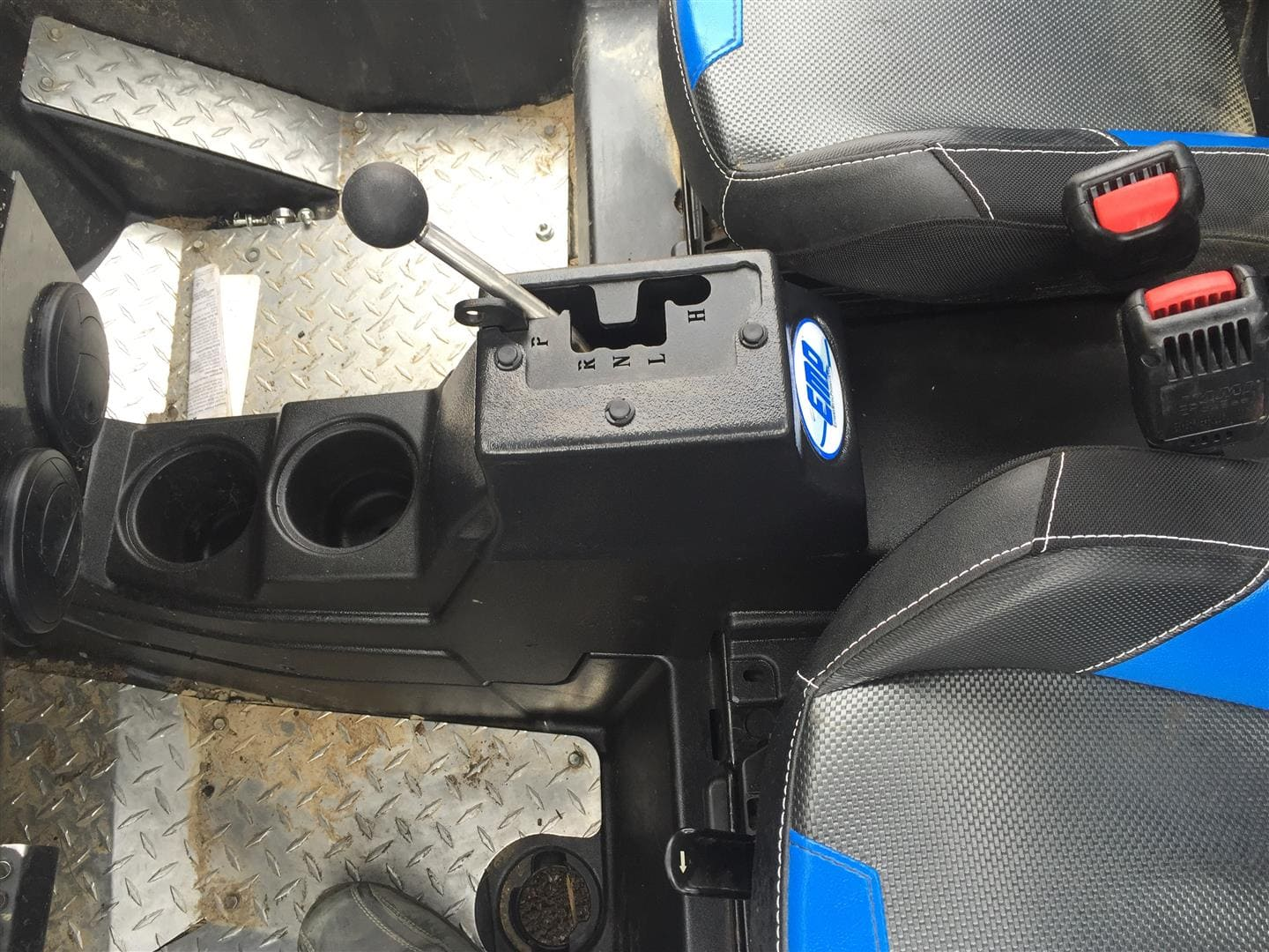 RZR GATED SPEED SHIFTER ASSEMBLY