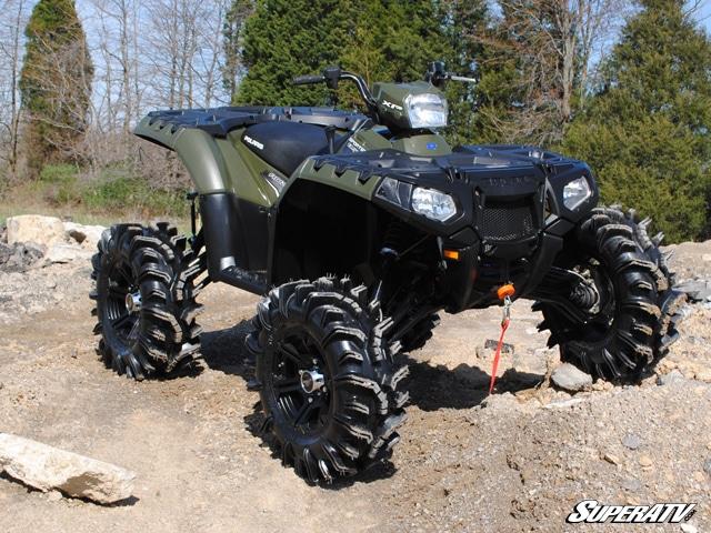 Super Atv 6 Quot Lift Kit With Piggyback Shocks Sportsman Xp