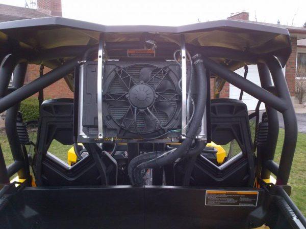 REAR RADIATOR RELOCATION KIT CAN-AM COMMANDER/MAVERICK 2011-2013-0