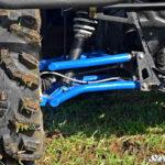 SUPER ATV HIGH CLEARANCE REAR A-ARMS SET POLARIS RANGER 570/XP 900 - BLACK-0