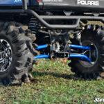 SUPER ATV HIGH CLEARANCE REAR A-ARMS SET POLARIS RANGER 570/XP 900 - BLACK-14215