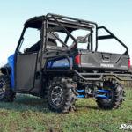 SUPER ATV HIGH CLEARANCE REAR A-ARMS SET POLARIS RANGER 570/XP 900 - BLACK-14214