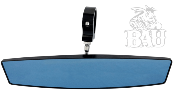 """BAD ASS REAR VIEW MIRROR WITH 2.0"""""""" CLAMP - BLACK-14123"""