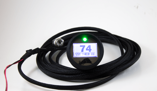 RAZORBACK TECHNOLOGY BELT TEMPERATURE 2.0 GUAGE WITH PRO SENSOR 15' CABLE-0