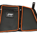 PRP SEATS STOCK REAR DOOR BAG WITH KNEE PAD DRIVER'S SIDE POLARIS RZR XP 1000/S 900 - BLACK-14275