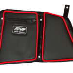 PRP SEATS STOCK REAR DOOR BAG WITH KNEE PAD DRIVER'S SIDE POLARIS RZR XP 1000/S 900 - BLACK-14277