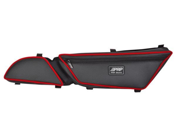 PRP SEATS STOCK DOOR BAGS WITH KNEE PAD ARCTIC CAT WILDCAT 700 - PAIR - BLACK -14239