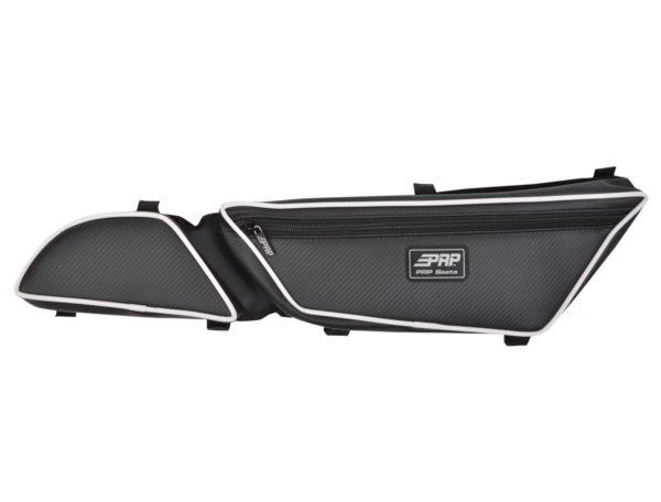 PRP SEATS STOCK DOOR BAGS WITH KNEE PAD ARCTIC CAT WILDCAT 700 - PAIR - BLACK -14242