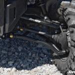 "SUPER ATV HIGH CLEARANCE 1.5"""" FORWARD OFFSET A-ARMS HONDA PIONEER 1000 - BLACK-14424"