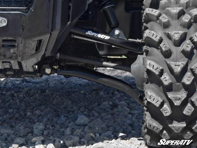 "SUPER ATV HIGH CLEARANCE 1.5"""" FORWARD OFFSET A-ARMS HONDA PIONEER 1000 - BLACK-0"